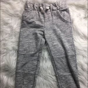 Cherokee Girls Medium 7/8 Grey Sweat Pants